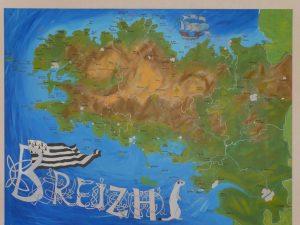 BreizhMap' la Bretagne en carte faite maison