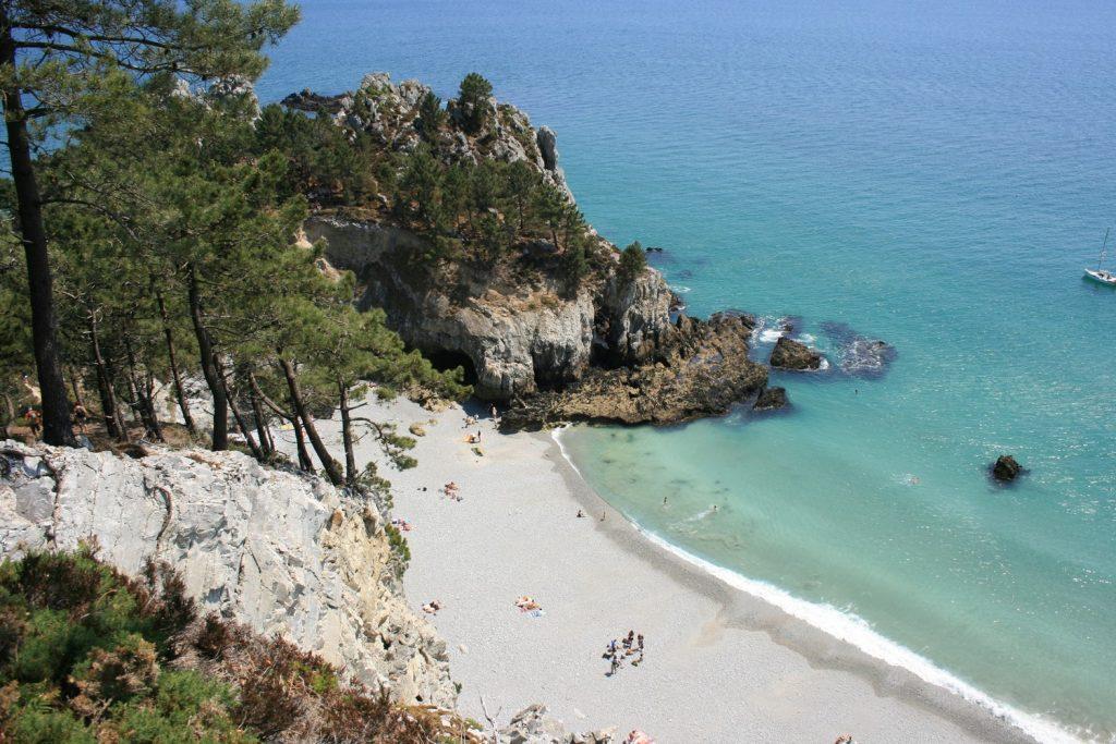 gr34 Bretagne, La pointe de st Hernot Presqu'île de Crozon