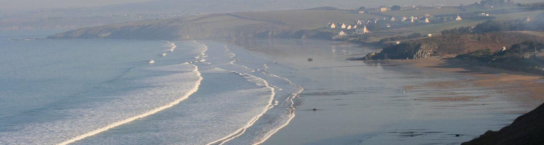 gr34 Bretagne, plage de Trezmalaouen à 10 mn à pied de notre maison d'hôtes