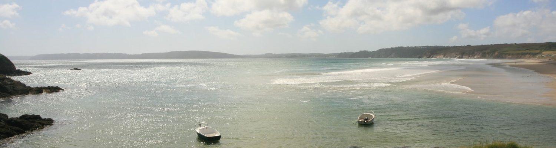 gr34 Bretagne, plage de l'Aber finistère